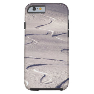 Skiing Tracks Tough iPhone 6 Case