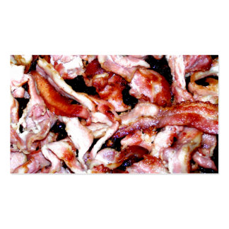 Skillet Full Of Bacon Double-Sided Standard Business Cards (Pack Of 100)