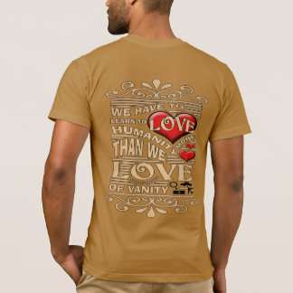 SKILLHAUSE - LOVE HUMANITY MORE T-Shirt