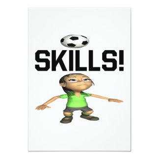 Skills 13 Cm X 18 Cm Invitation Card