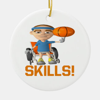 Skills Christmas Ornament