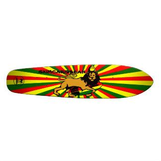 Skimcaribbean Lion cruiser Custom Skate Board