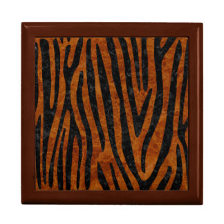 SKIN4 BLACK MARBLE & BROWN MARBLE LARGE SQUARE GIFT BOX