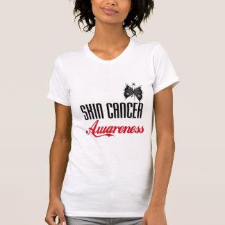 Skin Cancer Awareness Butterfly T Shirt