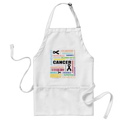 Skin Cancer Awareness Collage Apron