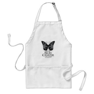 Skin Cancer Butterfly 2 Standard Apron