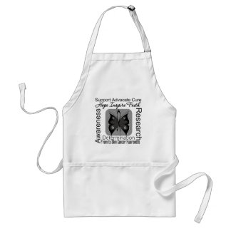 Skin Cancer Butterfly Inspirations Standard Apron