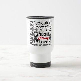 Skin Cancer Caregivers Collage Coffee Mugs