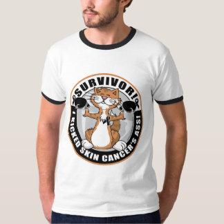 Skin Cancer Cat Survivor T-Shirt
