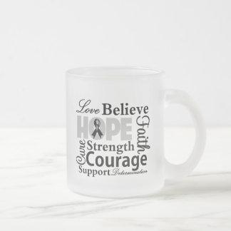 Skin Cancer Collage of Hope Coffee Mug