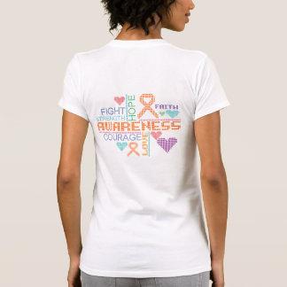 Skin Cancer Colorful Slogans T Shirt