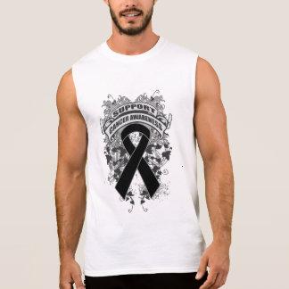 Skin Cancer - Cool Support Awareness Slogan Sleeveless T-shirts