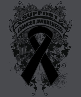 Skin Cancer - Cool Support Awareness Slogan Tees