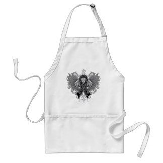 Skin Cancer Cool Wings Standard Apron