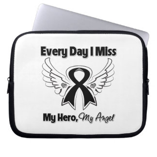 Skin Cancer Every Day I Miss My Hero Laptop Sleeves