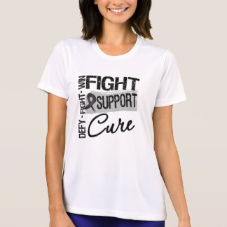 Skin Cancer Fight Support Cure Tee Shirts