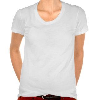 Skin Cancer Fighter Chick v2 T Shirts