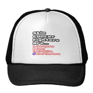 Skin Cancer Fighter Quiz Hats