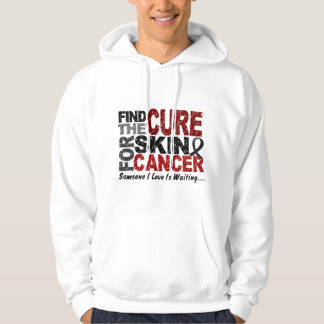 Skin Cancer FIND THE CURE 1 Sweatshirt