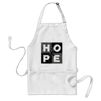 Skin Cancer HOPE Cube Aprons