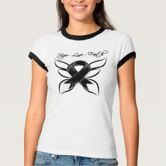 Skin Cancer Hope Love Faith Tshirts