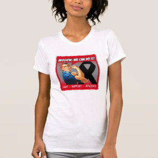 Skin Cancer Mission We Can Do It T Shirts