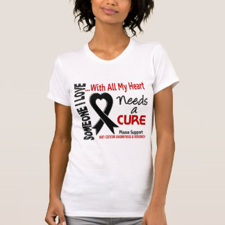 Skin Cancer Needs A Cure 3 T Shirts