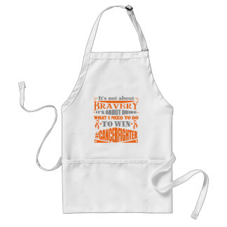 Skin Cancer Not About Bravery Standard Apron