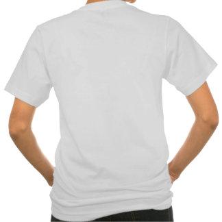 Skin Cancer Ribbon Powerful Slogans Tee Shirts