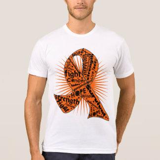 Skin Cancer Ribbon Powerful Slogans Shirt