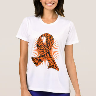 Skin Cancer Ribbon Powerful Slogans Shirts