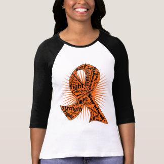 Skin Cancer Ribbon Powerful Slogans T-shirts