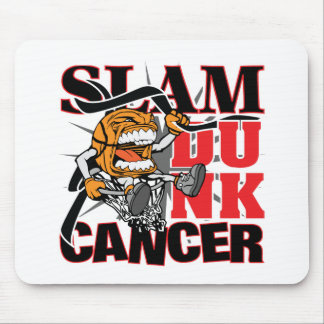 Skin Cancer - Slam Dunk Cancer Mouse Pad