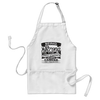 Skin Cancer Strong is Only Choice Against Cancer 2 Aprons