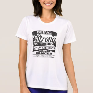 Skin Cancer Strong is Only Choice Against Cancer 2 T-shirts