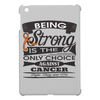Skin Cancer Strong is Only Choice Against Cancer iPad Mini Cover