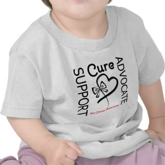 Skin Cancer Support Advocate Cure Shirt