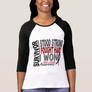 Skin Cancer Survivor 4 Tshirt