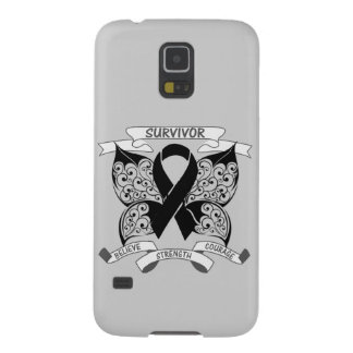 Skin Cancer Survivor Butterfly Strength Galaxy S5 Cases
