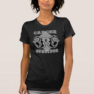 Skin Cancer Survivor Butterfly Tshirts