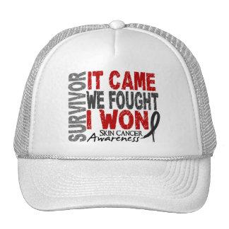 Skin Cancer Survivor It Came We Fought I Won Hat