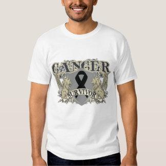 Skin Cancer Survivor Mens Heraldry T Shirts