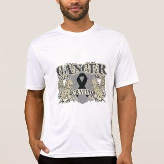 Skin Cancer Survivor Mens Heraldry Tshirt