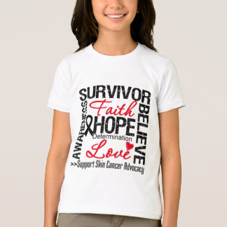 Skin Cancer Survivors Motto T-Shirt