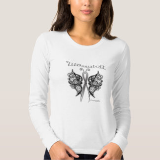 Skin Cancer Warrior Celtic Butterfly T Shirts