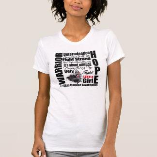 Skin Cancer Warrior Fight Slogans Shirts