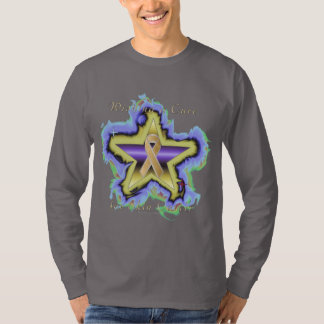 Skin Cancer Wish Star Long Sleeve Shirt
