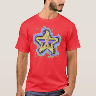 Skin Cancer Wish Star Men's Nano T-Shirt