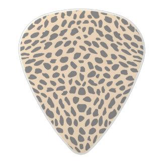 Skin cheetah decor acetal guitar pick