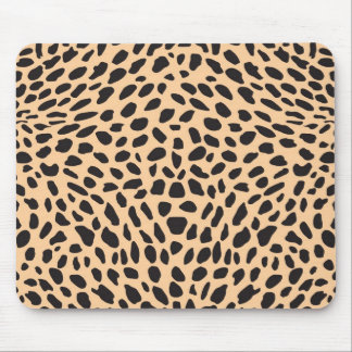Skin cheetah decor mouse mat
